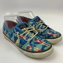 Sperry Top Sider 6 US M Women Casual Sneakers Shoes Blue Red STS94759 Swimming s - $40.26 CAD