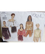 Vogue Pattern 2594 (Used) size 6,8 Loose Fitting Blouses - $6.99