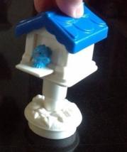 Fisher Price Little People Mail box mailbox post blue bird house birdhou... - $4.95