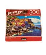 "Puzzlebug 500 Piece Puzzle Beautiful Colorful Cityscape 18.25""  X 11"" New - $6.23"