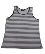 Vans M Branded Tank Mens Athletic Tank Top Stri... - $29.39