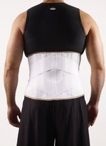 Corflex V-Lock with Pocket Back Support-XL - White - $45.99