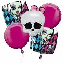 5 Piece Set ~ Monster High Party Balloon Bouquet Supplies Decor - $12.85