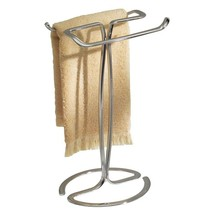 Bathroom Sink 2 Bar Towel Towels Holder Organizer Storage Stand Rack Han... - $34.39