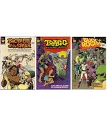 Whitman Lot Buck Rogers Brothers Of The Spear & Tragg And The Sky Gods - $4.95