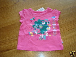 The Children's Place baby girls 6-9 month T shirt pink NWT ^^  - $5.93