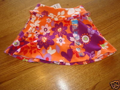Primary image for The Children's Place girls skort 6-9 months NWT skirt flower spring baby NEW^^