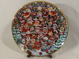 Franklin Mint ~ Santa Claws by Bill Bell ~ Limited Edition Plate B-4362 ... - $12.82