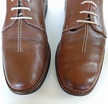 ALAN PAYNE Leather Casual Sz TONY Brown 11M Sole Oxfords Up J Shoes Lace Rubber 5TdqnxTB