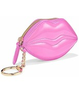 Victoria's Secret Keychain Metallic Lips Card Pouch Pink Purse Pouch - €21,14 EUR
