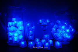 Set of 72 Litecubes Brand 3 Mode BLUE Light up LED Ice Cubes - $124.95
