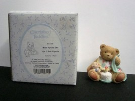 Cherished Teddies 911348 Beary Special One Age 1  Bear Figurine - $4.25