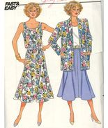 Butterick 3823 Misses Jacket, Skirt and Top Sizes 14 - 16 - 18 UNCUT - $5.50