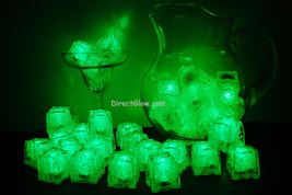 Set of 48 Green Litecubes Brand 3 Mode LED Light up Ice Cubes - $89.95