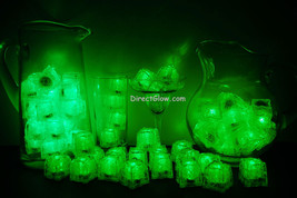 Set of 72 Green Litecubes Brand 3 Mode Light up LED Ice Cubes - $162.75 CAD