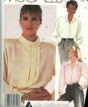 Misses Liz Claiborne Blouse Pattern  McCalls 2227 Size 16 Uncut - $2.00