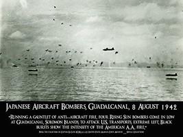 USMC Poster Marine Corps Poster Battle of Guadalcanal 18x24 (Guadalcanal13) - $19.99