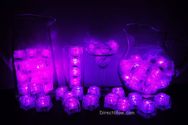 Set of 72 Pink Litecubes Brand 3 Mode Light up LED Ice Cubes - $162.75 CAD