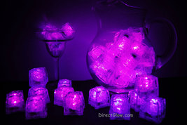 Set of 48 Pink Litecubes Brand 3 Mode Light up LED Ice Cubes - $89.95