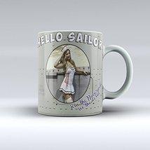 Navy Mug Pinup Mug Navy Pinup Ceramic Coffee Mug 15OZ - $14.99