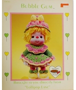 Dumplin Designs Bubble Gum Crochet Pattern Leaf... - $6.25