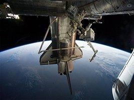 Space Shuttle Poster Space Shuttle Atlantis Poster NASA Poster 24x36 - $19.99