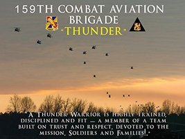 Army Poster 159th Combat Aviation Brigade Black Hawk Poster 18X24 (ARMY65) - $19.99