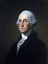 George Washington Poster George Washington Art Presidential Poster 24x36 - $29.99