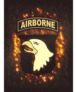 101st Airborne Poster Army Airborne Army Poster US Army Army Gifts 18x24 - $19.99