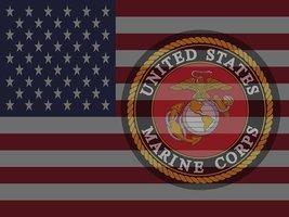Usmc Poster Usmc Flag Us Flag American Flag 18 X24 (Flagusa 16) - $19.99