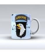 101st Airborne Mug Army Mug Ceramic Mug 15OZ - $14.99