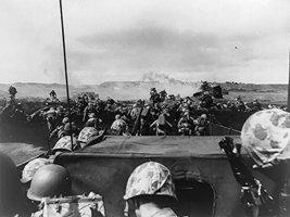 World War 2 Poster USMC Poster Battle of Iwo Jima 18x24 (WW2V12) - $19.99