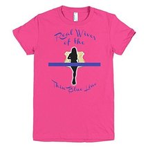 Real Wives of the Thin Blue Line Women's t-shirt (X-Large, Fuchsia) - $25.99