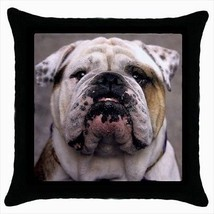 Olde English Bulldogge Throw Pillow Case - $16.44