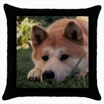 American Akita Throw Pillow Case - Dog Puppy - $16.44