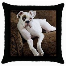 American Bulldog Throw Pillow Case - $16.44