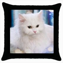 Persian Throw Pillow Case - Cat Kitten - $16.44