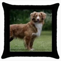 Tolling Retriever Throw Pillow Case - Dog Puppy - $16.44