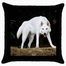 Northern Inuit Dog Throw Pillow Case - $16.44