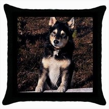 Lapponian Herder Throw Pillow Case - Dog Puppy - $16.44