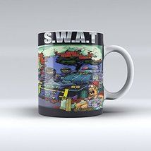 Swat Mug Police Mug Swat Gift Swat Team Ceramic... - $14.99