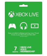 6+1=7-Month Xbox 360/ONE Live Membership Gold C... - $34.90