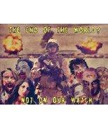 USMC Art Zombie Art Zombie Poster Zombie Apocalypse 24x36 (USMC51) - £22.97 GBP