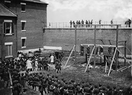 President Lincoln Poster Execution of Lincoln Assasination Conspirators 18x24 - $19.99