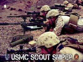 Usmc Poster Marine Sniper Scout Sniper Usmc Usmc Gifts 18 X24 (Usmc12) - $19.99