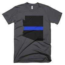 Arizona Thin Blue Line T-Shirt (Small, Asphalt) - $24.99