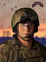 Army Rangers Poster Army Rangers Art Army Art 24x36 (RANGERSV94) - $29.99