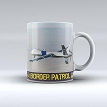 Border Patrol Mug Police Drone Ceramic Coffee Mug 15OZ - $14.99