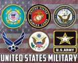 Military Poster US Military United States Military Military Gifts 18X24 (MILI...