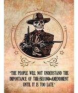 2nd Amendment Poster Gun Rights Poster Gun Poster 24x36 - $29.99